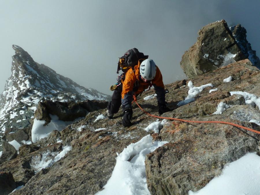 advanced climbing course British Mountain Guides
