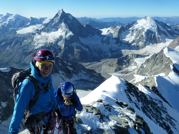 Climb Dent Blanche with Matterhorn view