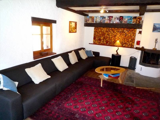 Lounge in the main chalet