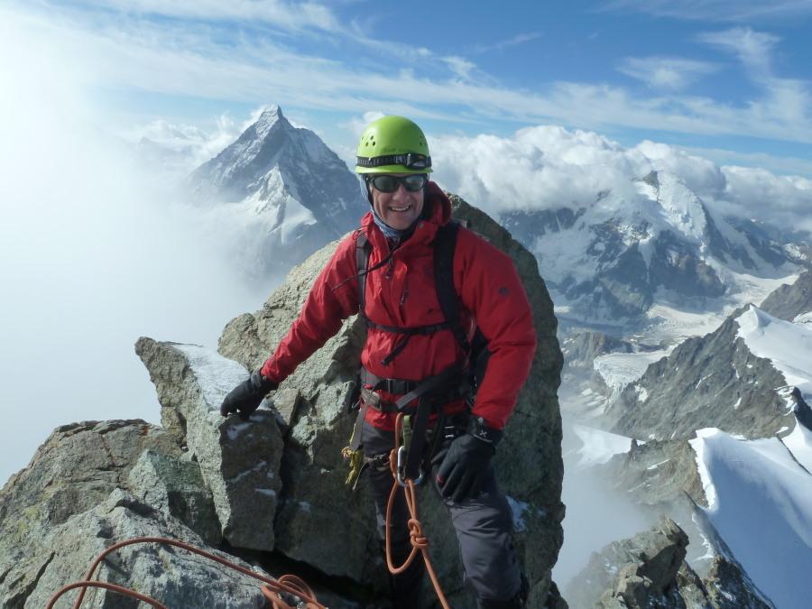 Dent Blanche Climb British Mountain Guide