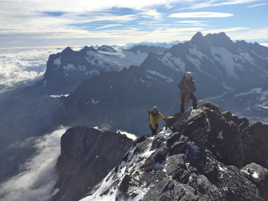 Climb Eiger British Mountain Guide Climbing Holidays