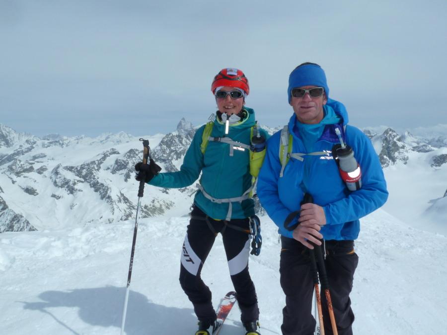 Ski Pigne d'Arolla