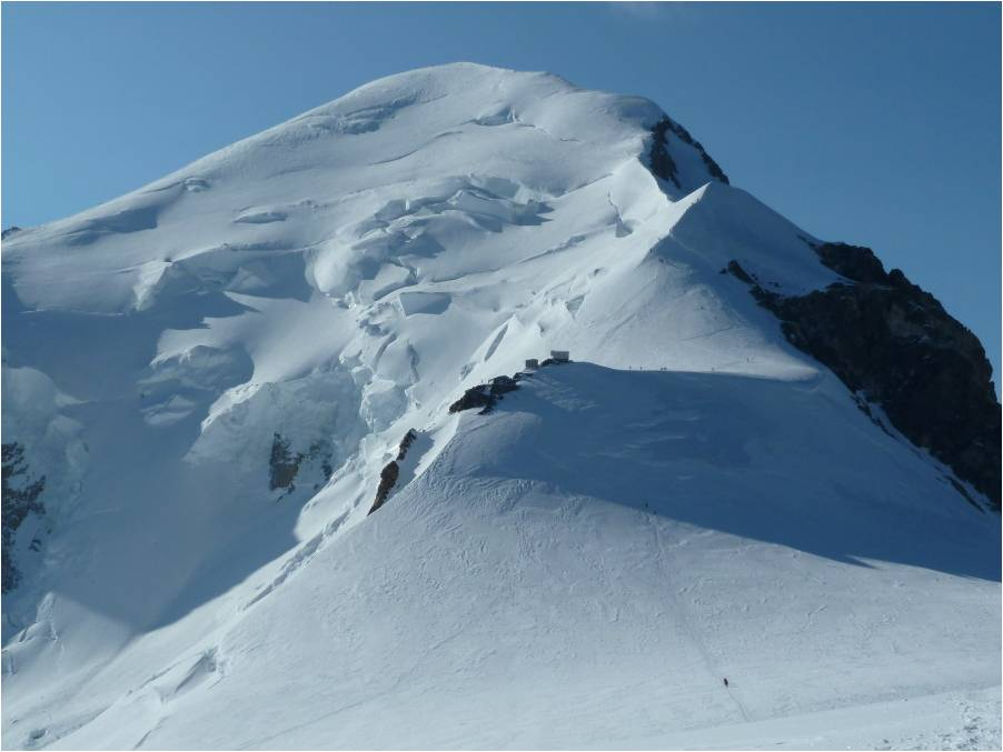Guided Climbing on Mont Blanc Summit Ridge