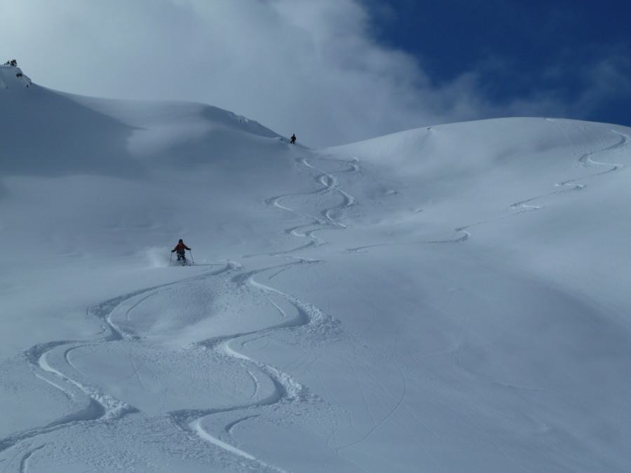 Ski Touring Zinal Grimentz Mountain Guide