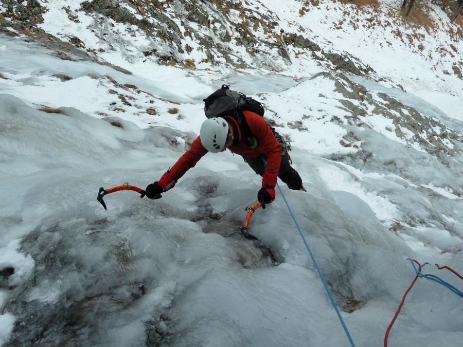 Arolla Ice Climbing