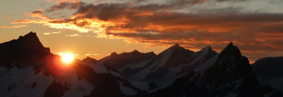 Climbing Valais 4000 Metre Peaks