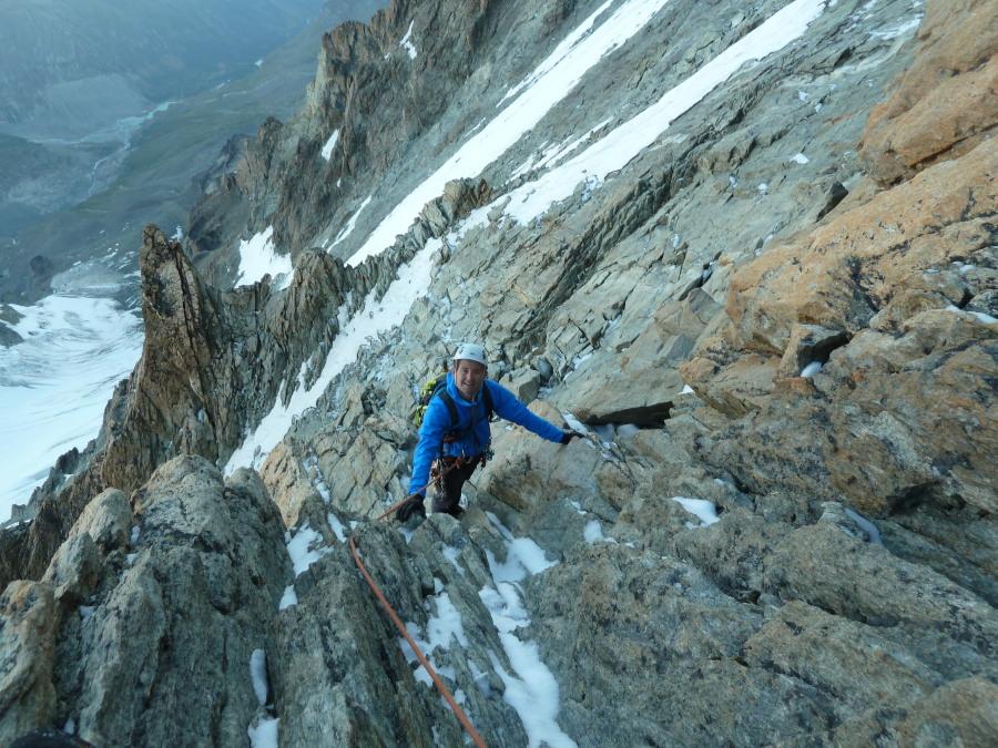 Dent Blanche Grande Gendarme Mountain Guide