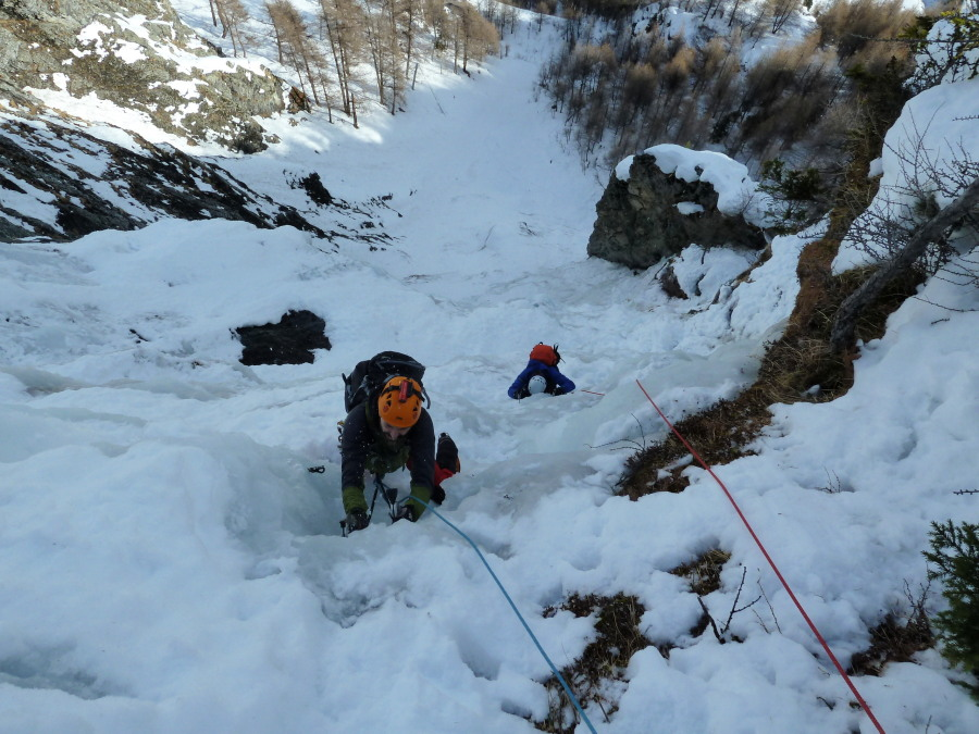 introduction to ice climbing