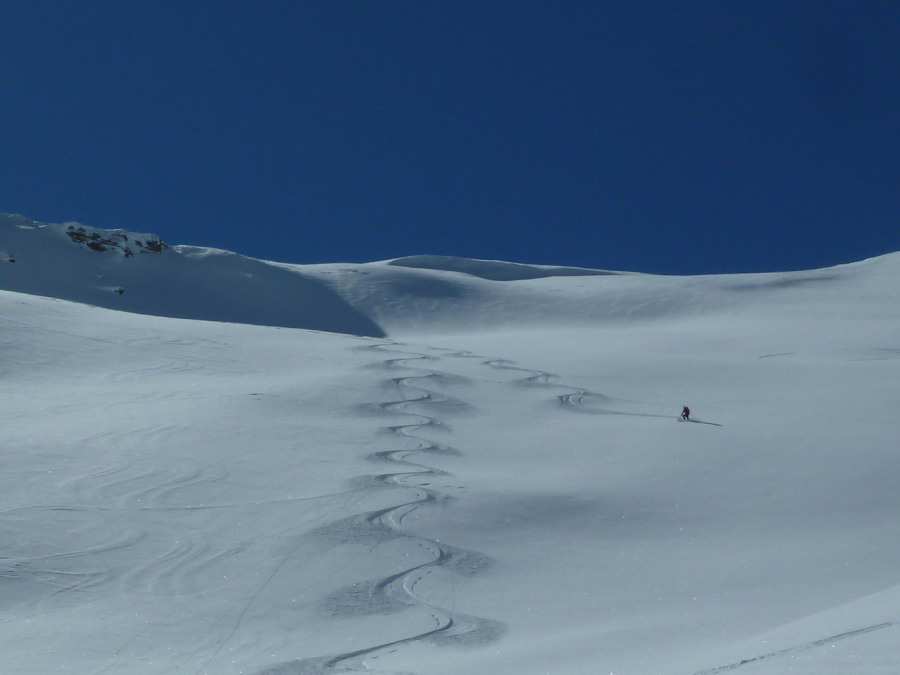 British Mountain Guide, guided ski touring Arolla