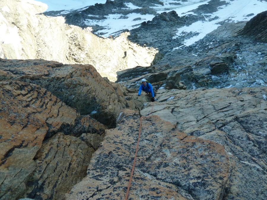 Climbing Dent Blanche British Mountain Guide