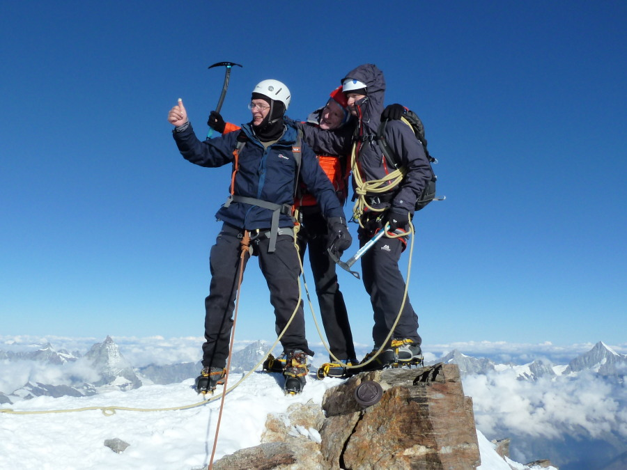Summit of the Monte Rosa!