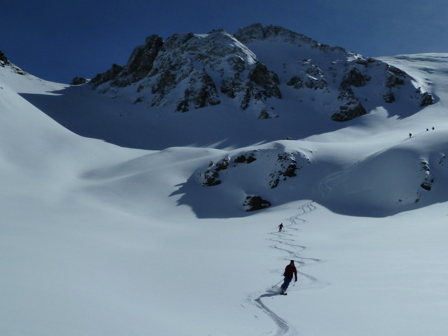 Graham Frost Mountain Guide Skiing Mont Noble