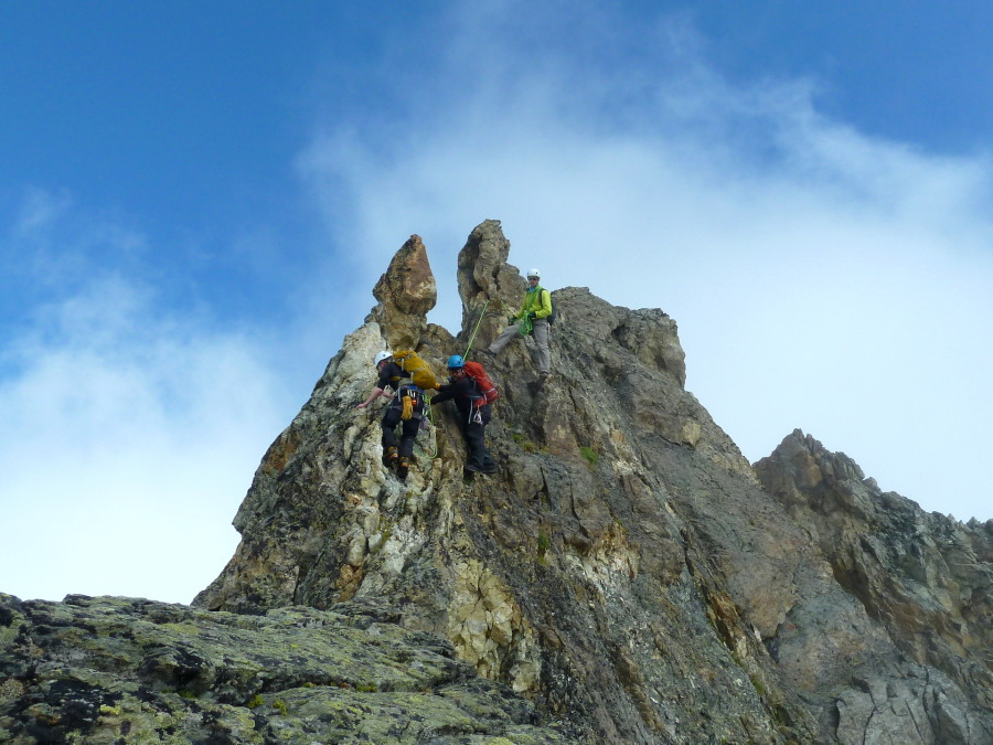 Day 3, the excellent Couronne de Bréona traverse