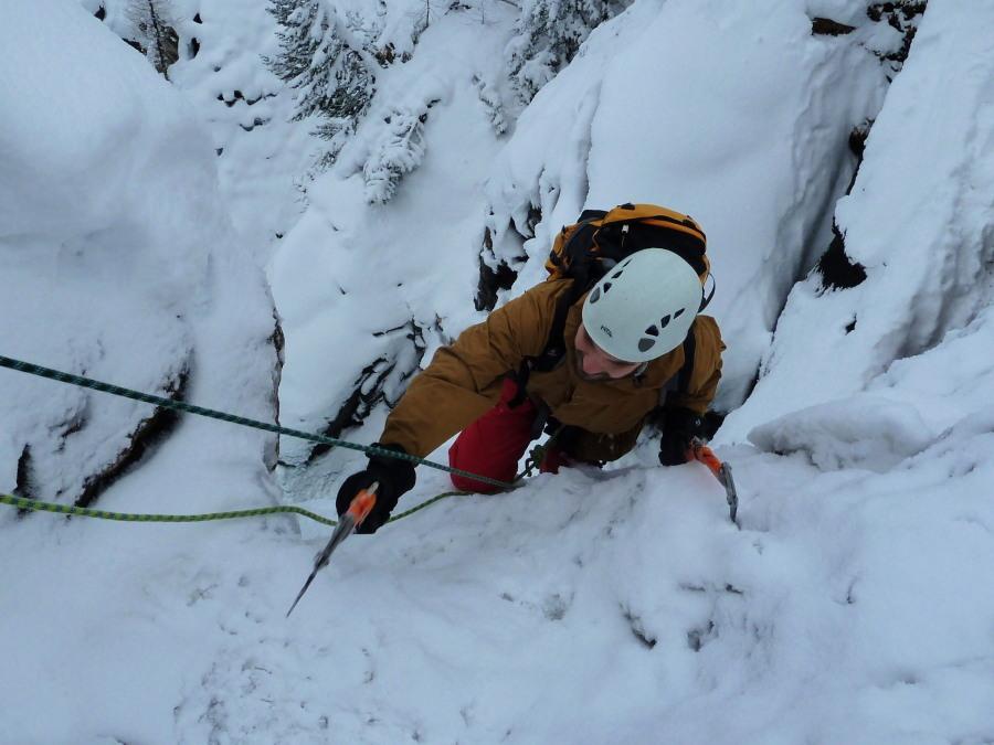 Cogne Ice Climbing - Lillaz Cascade