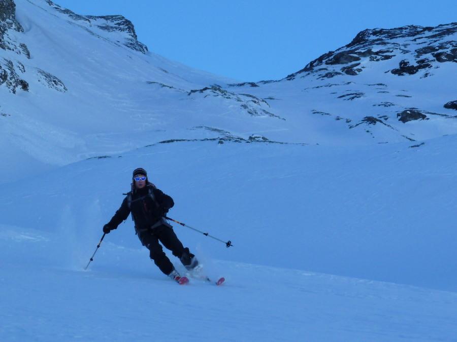Good skier!