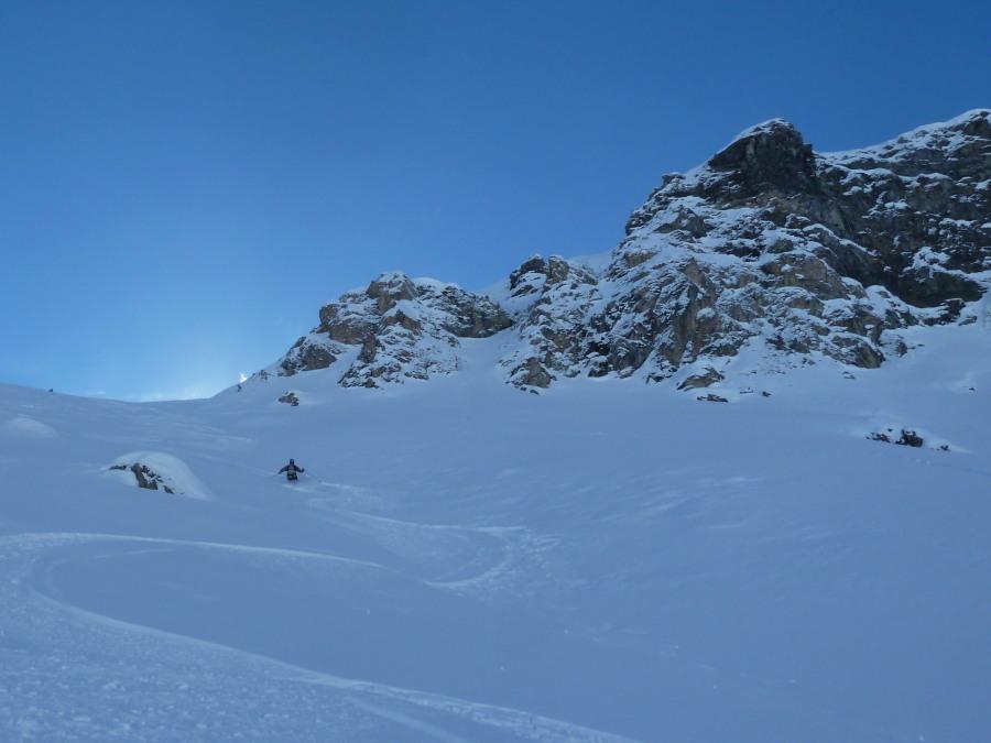 Straight off the Arolla Ski Lift, 5 days since it snowed!