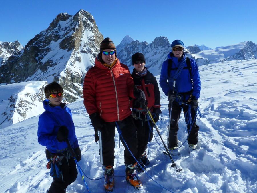 Summit of the point d'Oren
