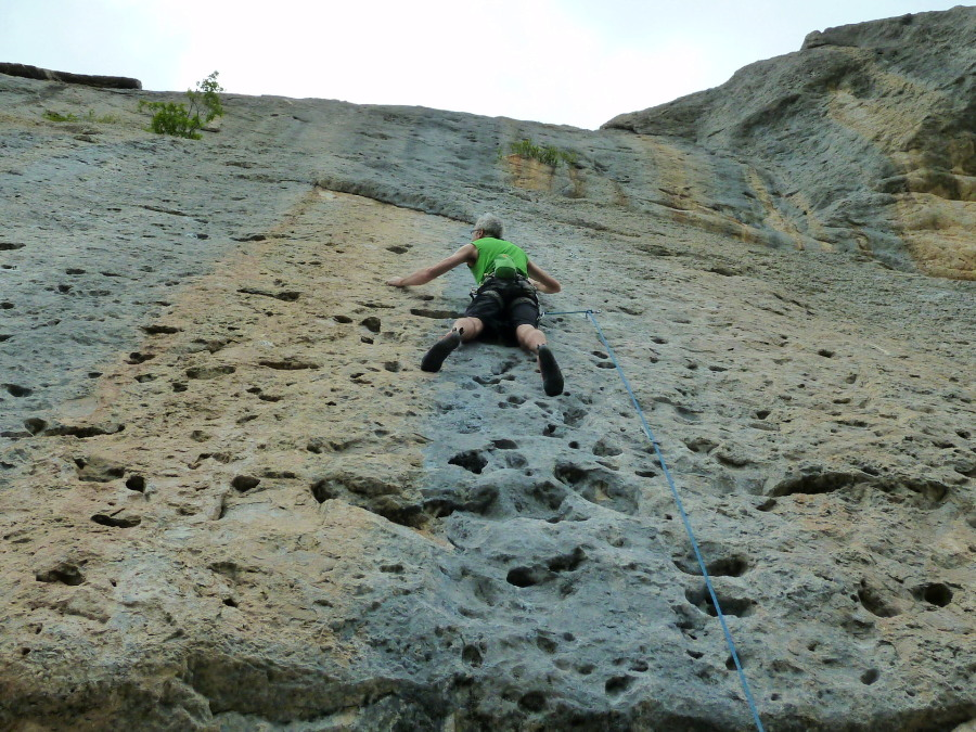 Ceuse Rock Climbing