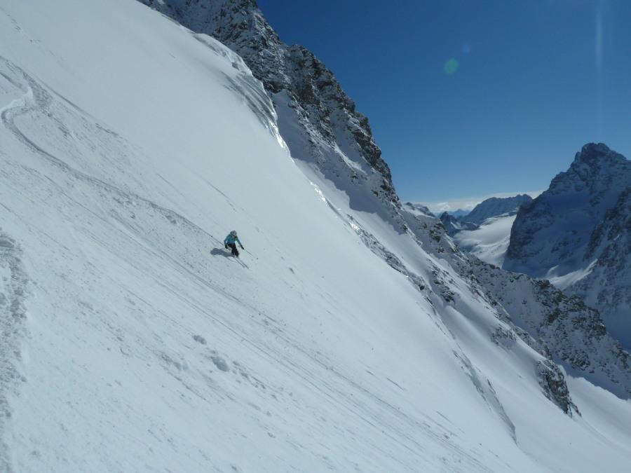 Ski Touring Arolla Ski Mont Blanc British Guide