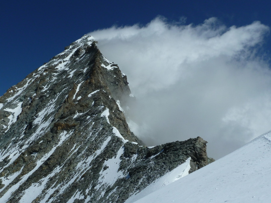 Dent Blanche guided climb alps