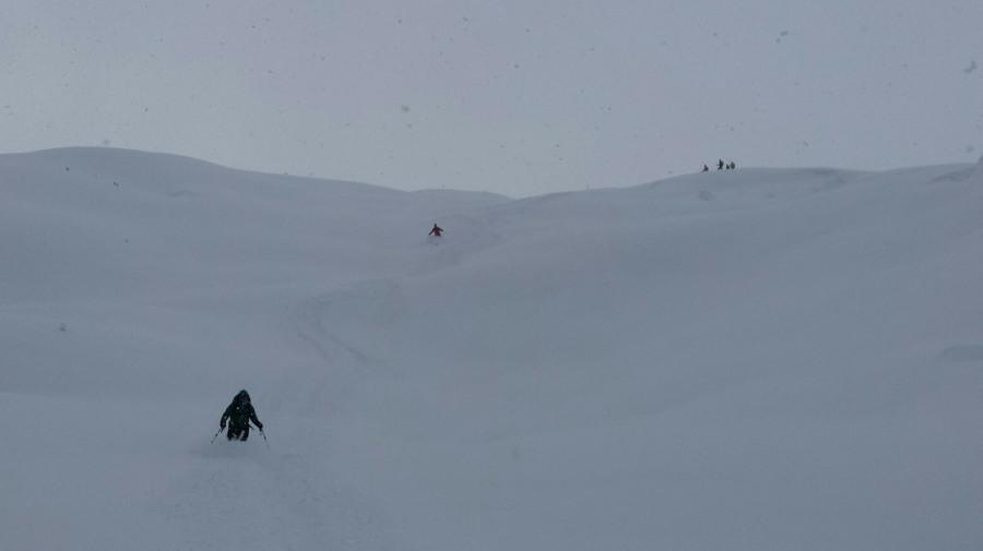Ski guide in Grimentz Zinal