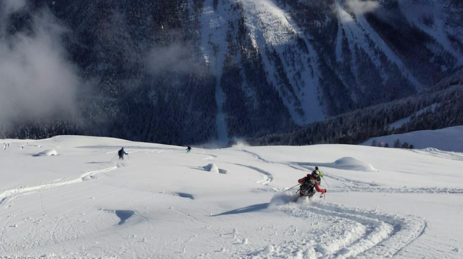 British Mountain Guide Off Piste