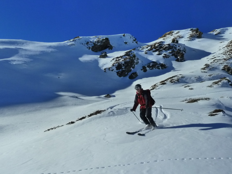 Great snow below la Brinta