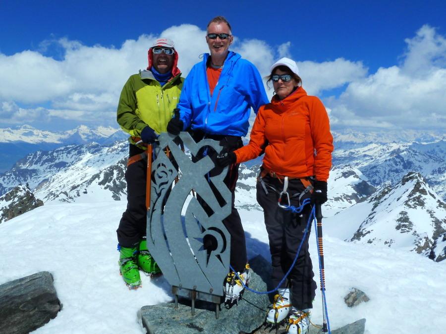 Rosablanche summit