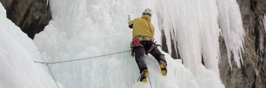 British Mountain Guide Ice Climbing