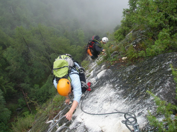 Nax via ferrata