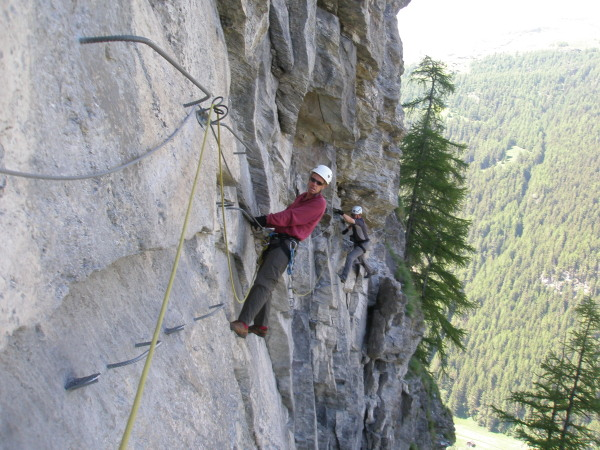 Evolene via ferrata