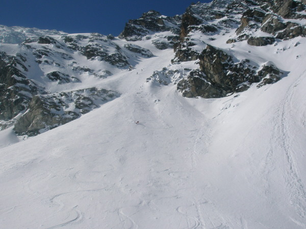 the final steep bit