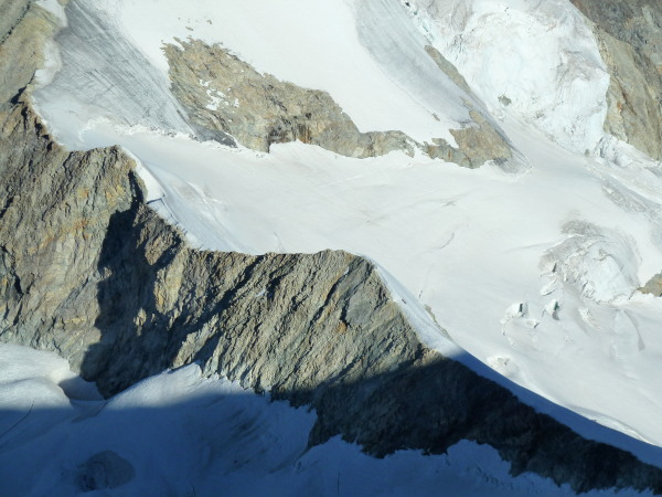 Arete du Blanc from Rothorn