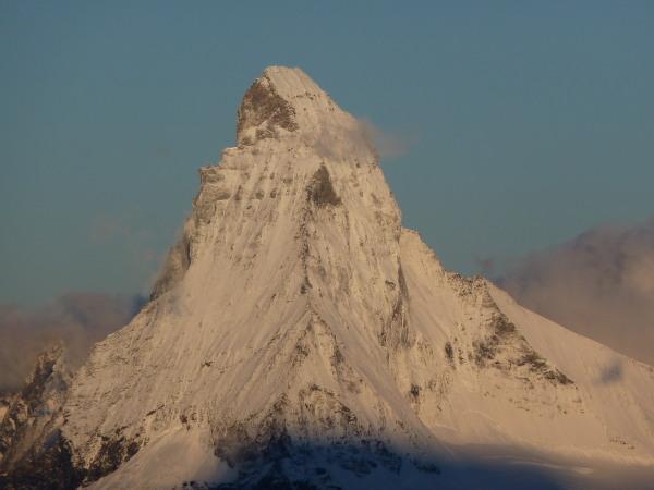A very snowy Matterhorn