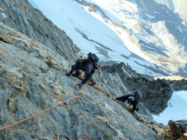 "Climbing the ""easier than it looks"" corner"