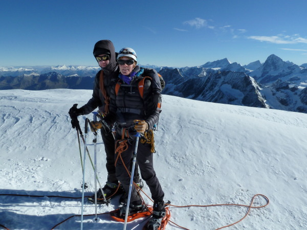 summit of Pigne d'Arolla