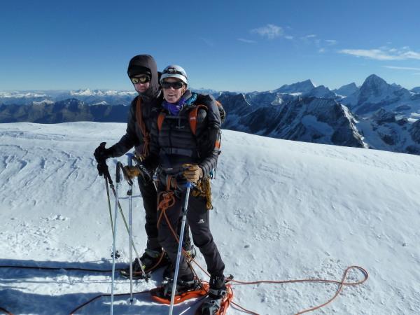 summit of Pigne d'Arolla