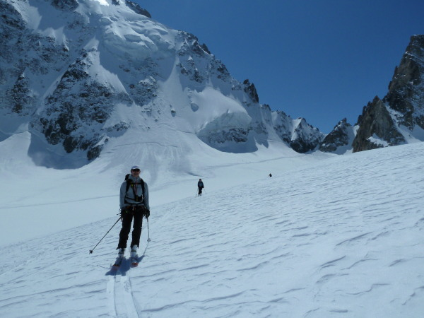 Swiss side of the Col du Chardonnet.