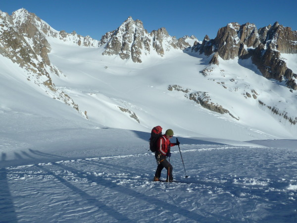 Skinning to the col