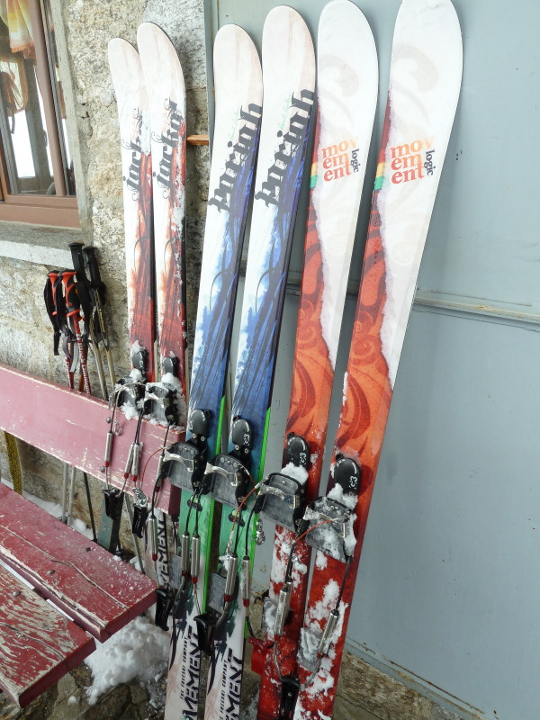 Movement make good telemark skis!