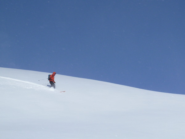 Blue sky+ powder=big smiles