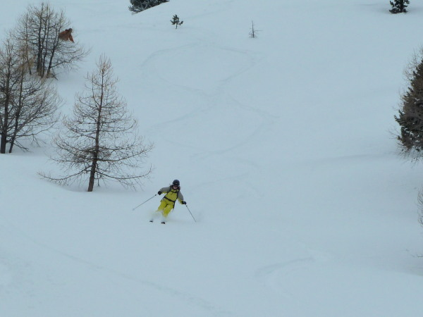 Excellent powder at Arolla