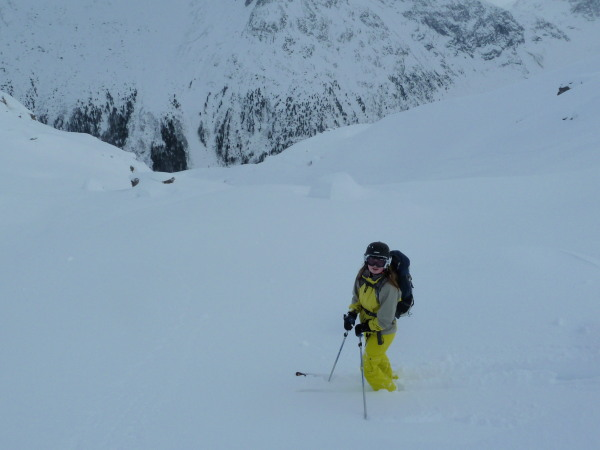 Untracked to the valley!