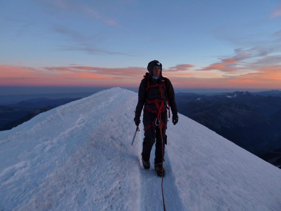 Mont Blanc - peaceful late season(!)