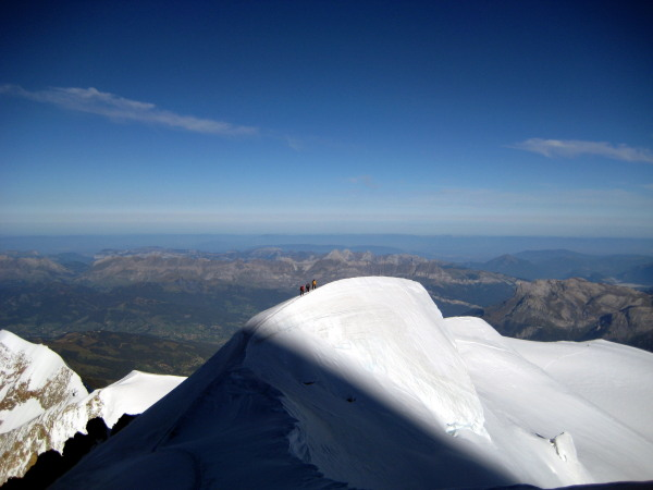 Mont Blanc conditions British Mountian Guides
