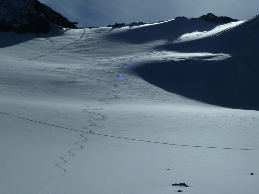 And the ski back down past the Vignettes hut was good too!