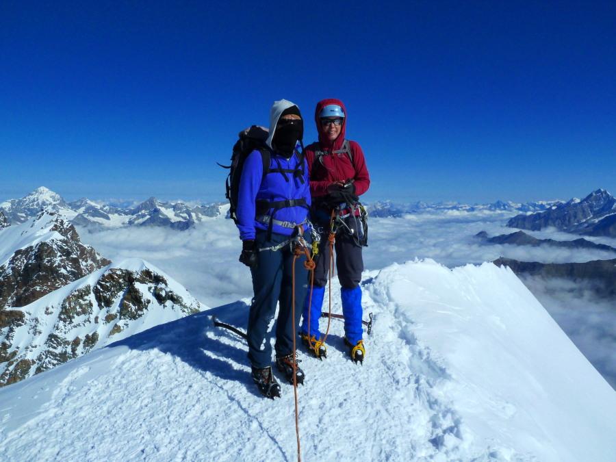 4000 metre Peaks - Castor Summit