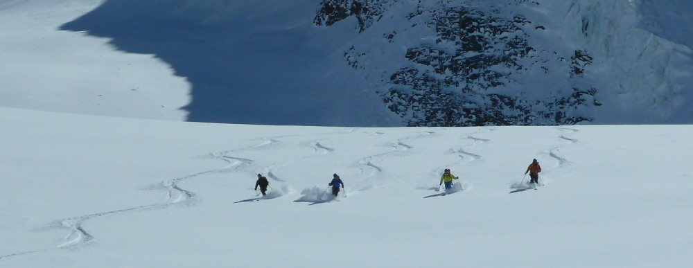 Guided Intermediate Ski Touring Course Arolla