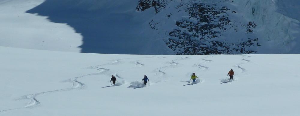 Guided Intermediate Ski Touring Course Arolla