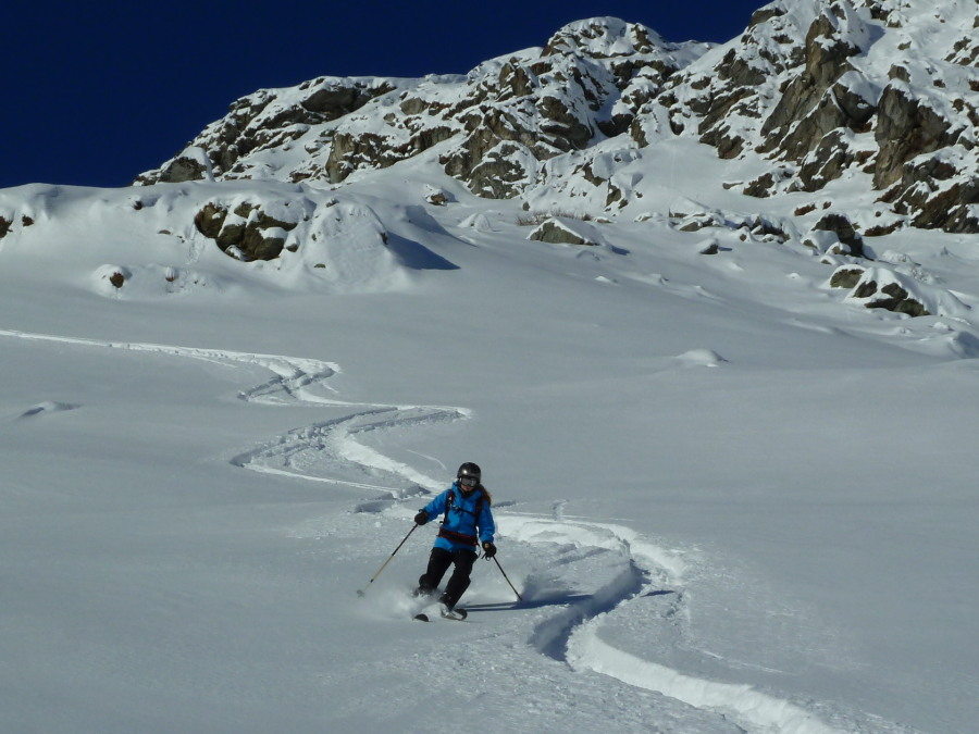 Ski Tour Zinal Backcountry British Mountain Guide